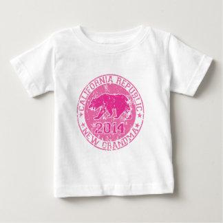 california republic new grandma pink 2014 baby T-Shirt