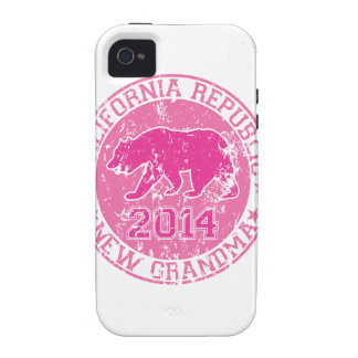 california republic new grandma pink 2014 iPhone 4 cases