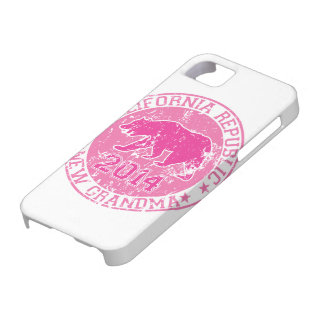 california republic new grandma pink 2014 iPhone 5 case
