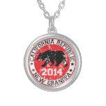 california republic new grandpa 2014 personalized necklace
