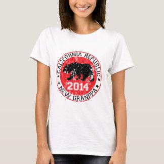 california republic new grandpa 2014 T-Shirt