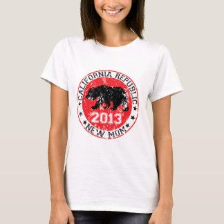 california republic new mom 2013 T-Shirt