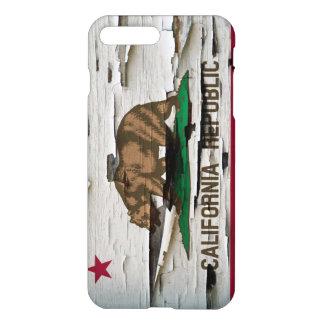 California Republic Paint Peel iPhone 7 Plus Case