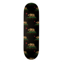 California Republic Pattern 1 Skateboard Deck