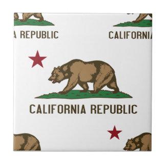 California Republic Pattern 1 Ceramic Tile