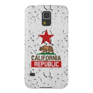 California Republic Peeling Paint Galaxy S5 Cover