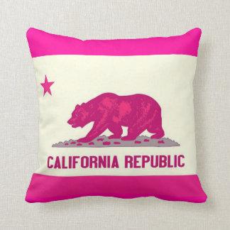 California Republic Throw Pillows