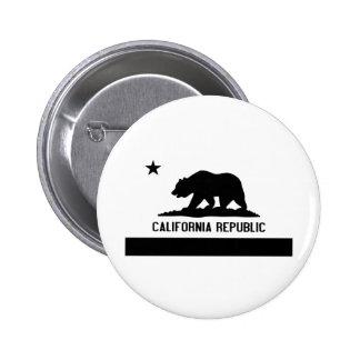 California Republic Pinback Button