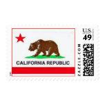 California Republic Postage Stamps