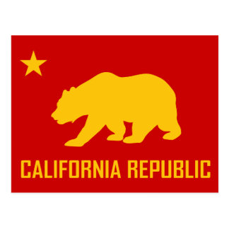 California Republic Postcard