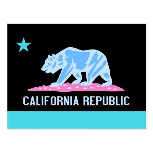 California Republic Postcards