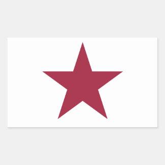 California Republic Rectangular Sticker