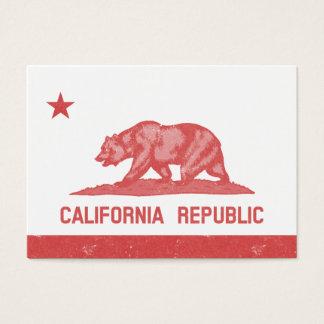California Republic (Red) Business Card