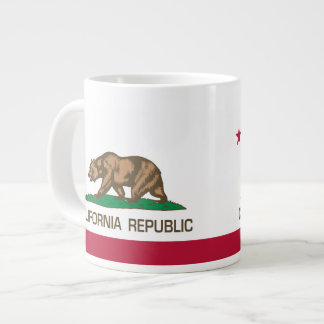 California Republic (regular State Flag) Giant Coffee Mug