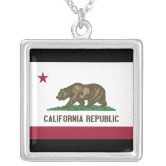 California Republic Silver Plated Necklace
