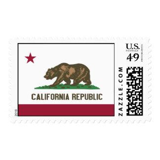California Republic Stamps