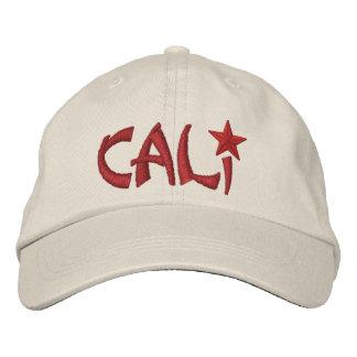 California Republic STAR Embroidery Embroidered Baseball Cap
