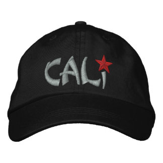 California Republic STAR Embroidery Embroidered Baseball Hat