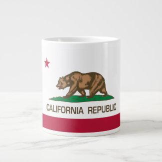 California Republic (State Flag) 20 Oz Large Ceramic Coffee Mug