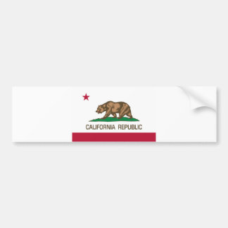 California Republic (State Flag) Bumper Sticker