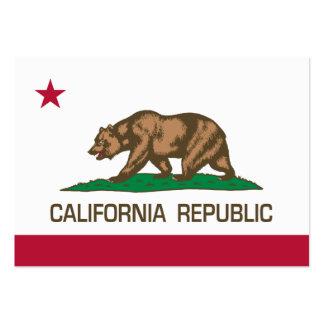 California Republic (State Flag) Business Card