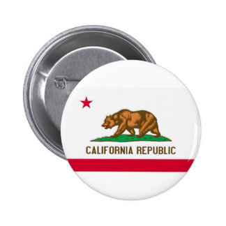 California Republic State Flag Button