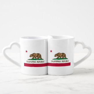 California Republic (State Flag) Coffee Mug Set