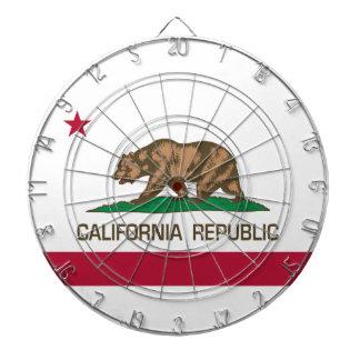 California Republic (State Flag) Dart Boards