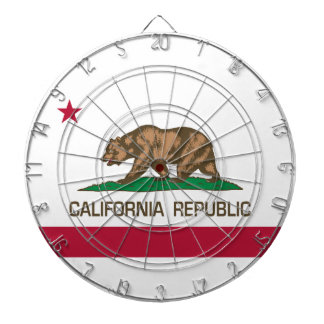 California Republic (State Flag) Dartboard
