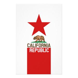 CALIFORNIA REPUBLIC State Flag Decor Flyer