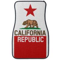CALIFORNIA REPUBLIC State Flag Design Floor Mat