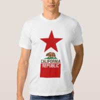 CALIFORNIA REPUBLIC State Flag Design T Shirt