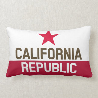 CALIFORNIA REPUBLIC State Flag Fitted Designs Throw Pillow