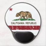 California Republic State Flag Gel Mouse Pad