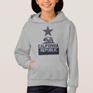 CALIFORNIA REPUBLIC State Flag Hoodie