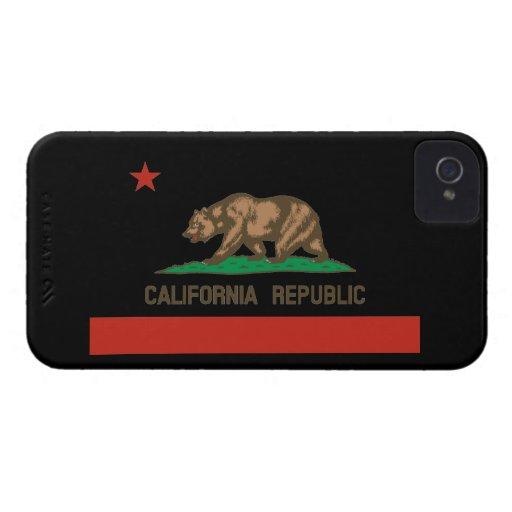California Republic State Flag iPhone 4 Case