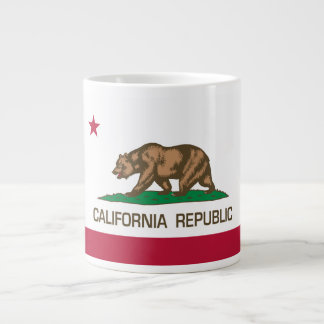 California Republic (State Flag) Large Coffee Mug