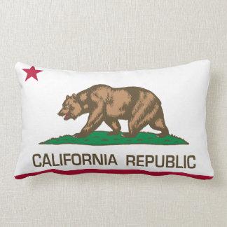 California Republic (State Flag) Lumbar Pillow