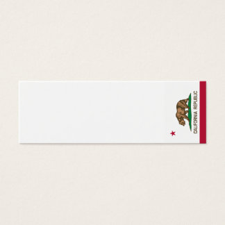 California Republic (State Flag) Mini Business Card
