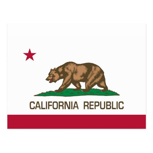 California Republic (State Flag) Post Cards