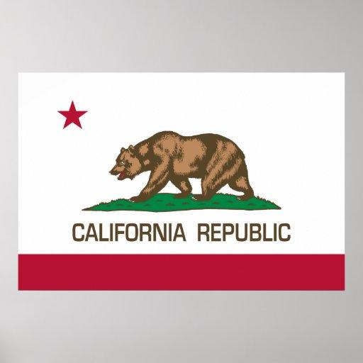California Republic (State Flag) Poster