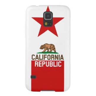 CALIFORNIA REPUBLIC State Flag Red Star Case For Galaxy S5
