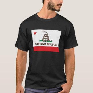 CALIFORNIA REPUBLIC STATE FLAG SHIRT (DARK SHIRT)