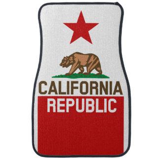 CALIFORNIA REPUBLIC State Flag Star Car Mat