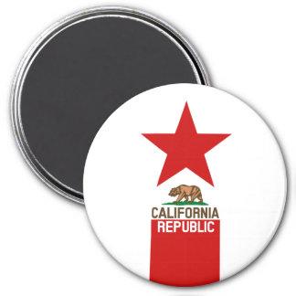 CALIFORNIA REPUBLIC State Flag Star Magnet