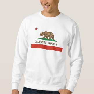 California Republic State Flag Sweatshirt