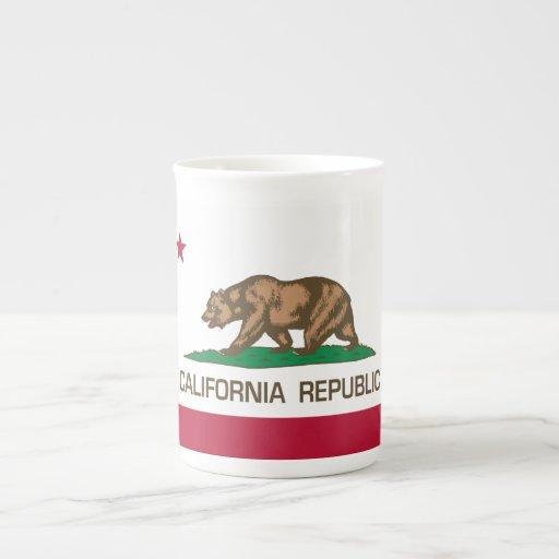 California Republic (State Flag) Tea Cup