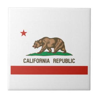 California Republic State Flag Tile