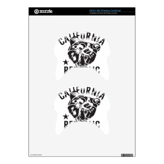 California Republic State of Mind Xbox 360 Controller Skins