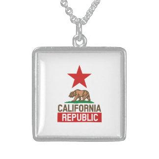 California Republic Sterling Silver Necklace